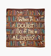 Go to the library Scarf