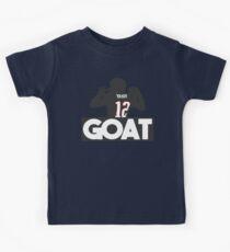 Tom Brady GOAT 12 Kids Clothes