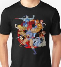 Donner Katzen Unisex T-Shirt