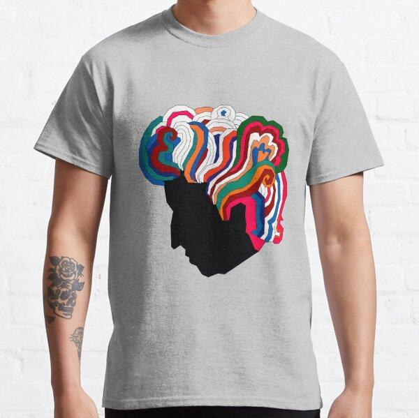 Bob Dylan Rainbow Camiseta clásica
