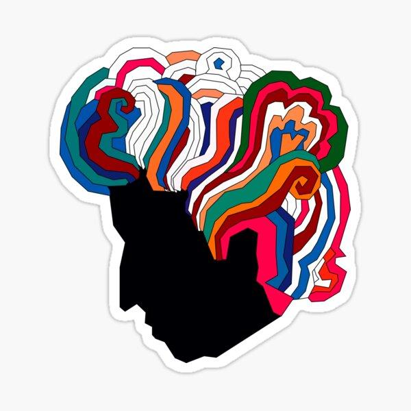 Bob Dylan Rainbow Sticker