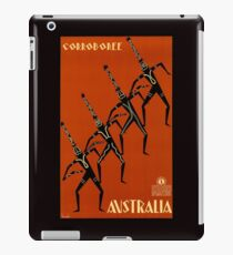 AUSTRALIA CORROBOREE; Vintage Travel Advertising Print iPad Case/Skin