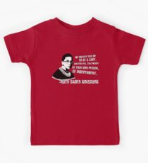 Revolutionary Women: Ruth Bader Ginsburg Kids T-Shirt