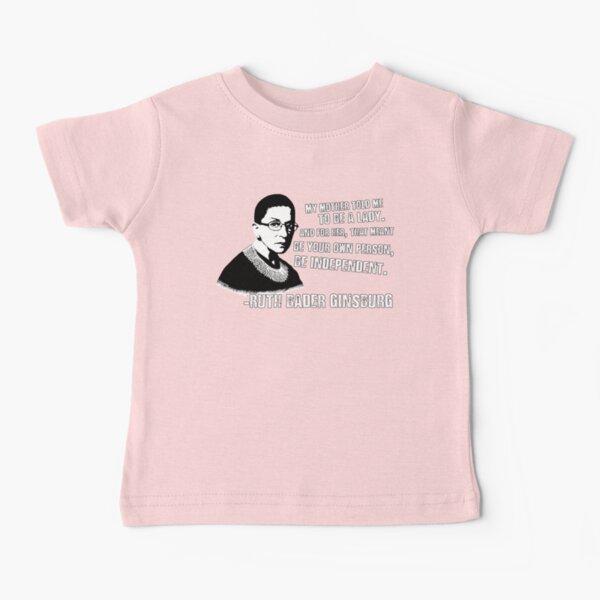 Revolutionary Women: Ruth Bader Ginsburg Baby T-Shirt