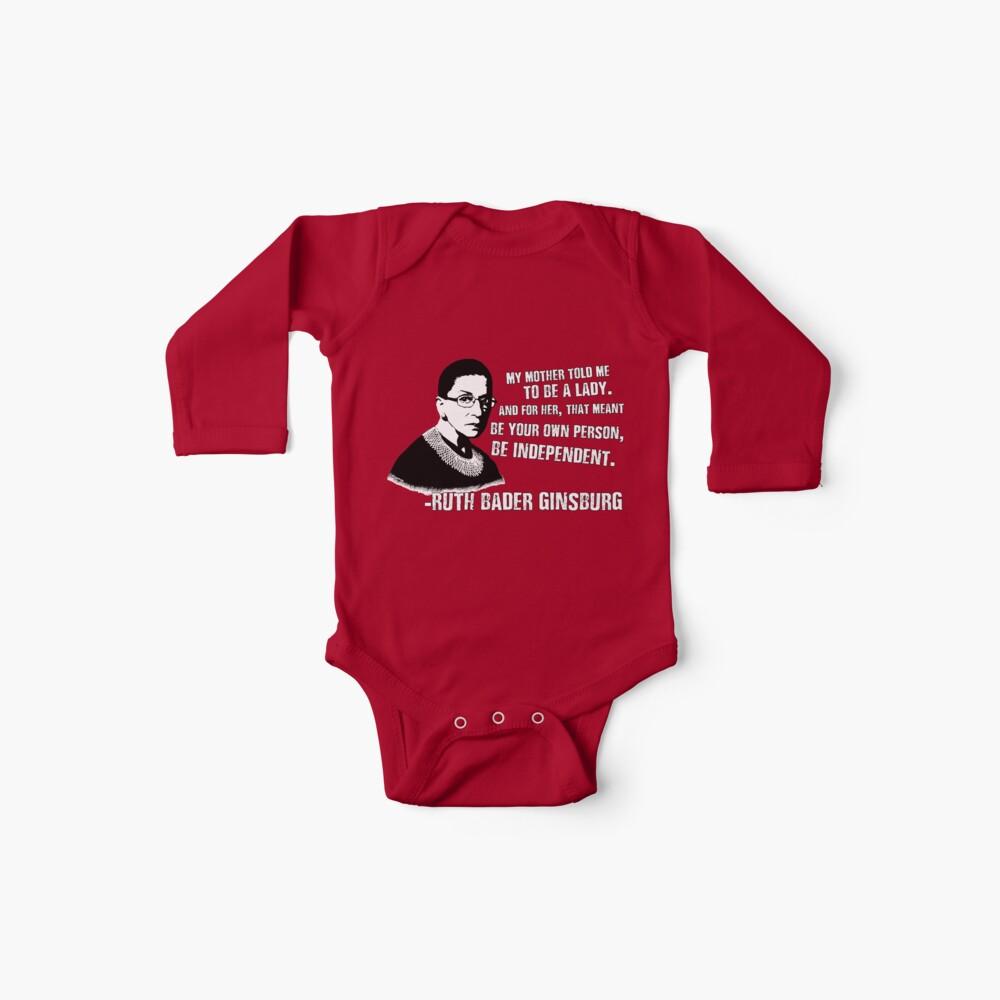 Revolutionäre Frauen: Ruth Bader Ginsburg Baby Body