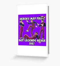 Robbie Rotten - Legends Never Die! Greeting Card