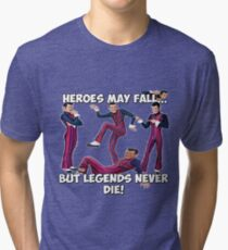 Robbie Rotten - Legends Never Die! Tri-blend T-Shirt