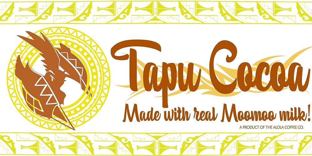 Tapu Cocoa Logo by Nicholas Giampiccolo