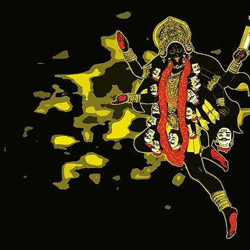 Goddes Kali Ma by GiriMan
