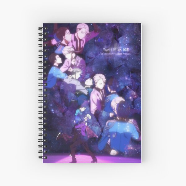 Victuuri Spiral Notebook