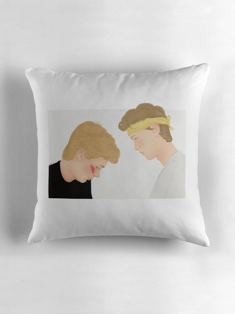 Quot Skam Isak And Even Evak Illustration Quot Throw Pillows By