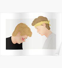 Skam, Isak and Even | Evak Illustration Poster