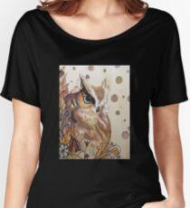 Eastern Screech Owl Women's Relaxed Fit T-Shirt