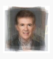 Alan Thicke Portrait Photographic Print