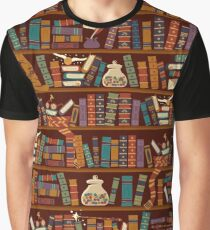 Bookshelf Graphic T-Shirt