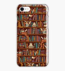 Bookshelf iPhone Case/Skin
