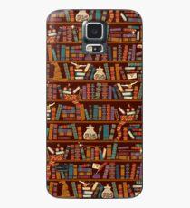Bücherregal Hülle & Klebefolie für Samsung Galaxy