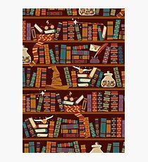 Bookshelf Photographic Print