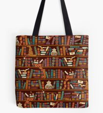 Bookshelf Tote Bag