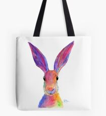 HAPPY HARE 'JELLY BEAN' BY SHIRLEY MACARTHUR Tote Bag