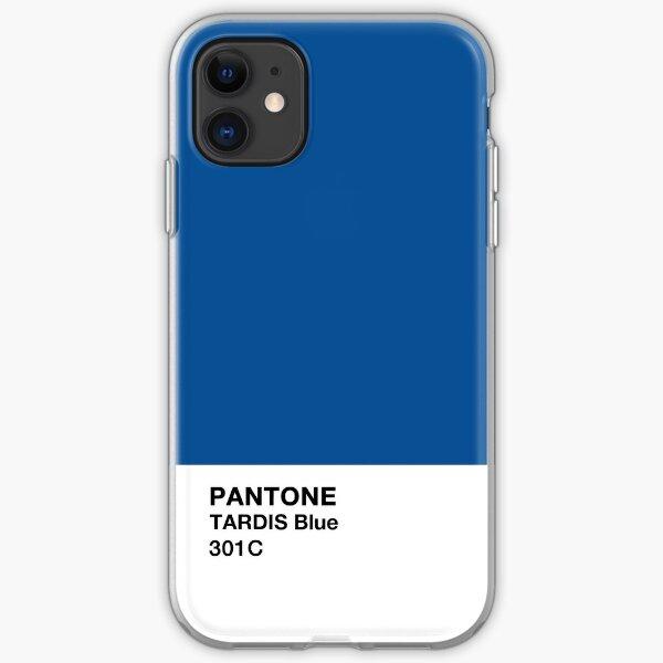 Blue Color Chip iPhone Soft Case