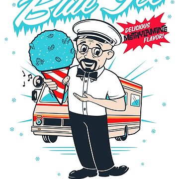 Mr. White's Blue Ice by dontblinktees