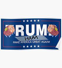 Rum Ham Poster