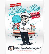 Mr. White's Blue Ice Poster