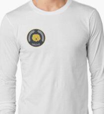 Grove High School Blazer Badge Long Sleeve T-Shirt