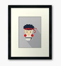 Ryu Framed Print