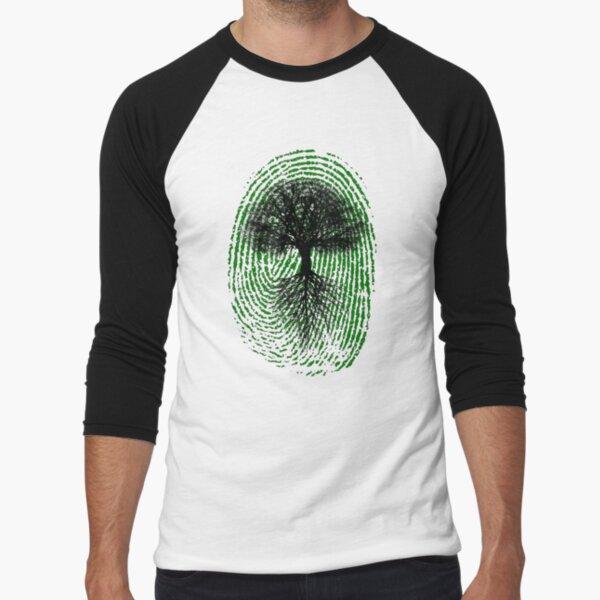 Green Thumb Baseball ¾ Sleeve T-Shirt