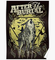 the burial Poster