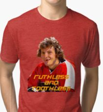Bobby Clarke Ruthless and Toothless Tri-blend T-Shirt
