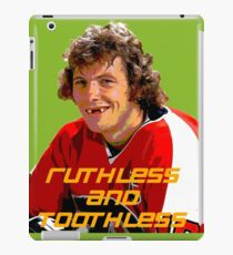 Bobby Clarke Ruthless and Toothless iPad Case/Skin