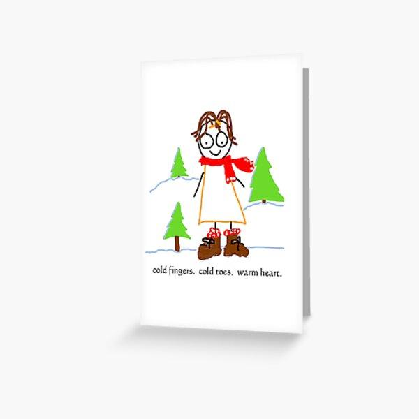 jenny quips:  Winter Fun! Greeting Card