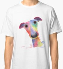 WHiPPeT GReYHouND DOG 'HANK' BY SHIRLEY MACARTHUR Classic T-Shirt