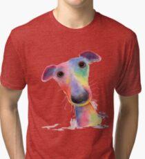 WhipPeT GreyHouND DOG 'HANK' VON SHIRLEY MACARTHUR Vintage T-Shirt