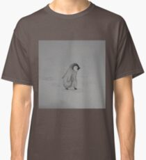 Baby Penguin Black and White Watercolor Classic T-Shirt