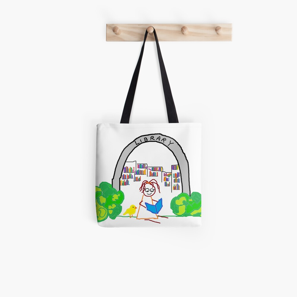 Jenny Quips:  Jenny Reads! Tote Bag