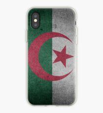 Algeria Flag Grunge iPhone Case