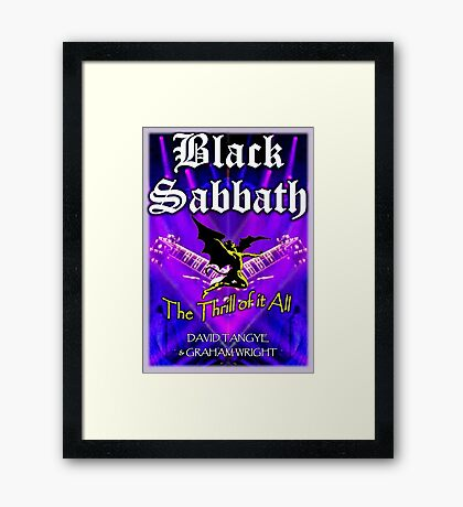 The Thrill of it All! Framed Print