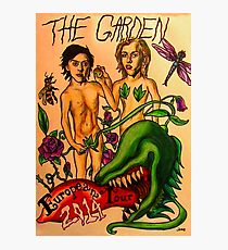 The Garden Euro Tour 2014 Poster Photographic Print