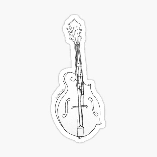 Mandolin & Mandolins Sticker