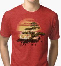 Camiseta de tejido mixto Bonsai Tree Karate Dojo