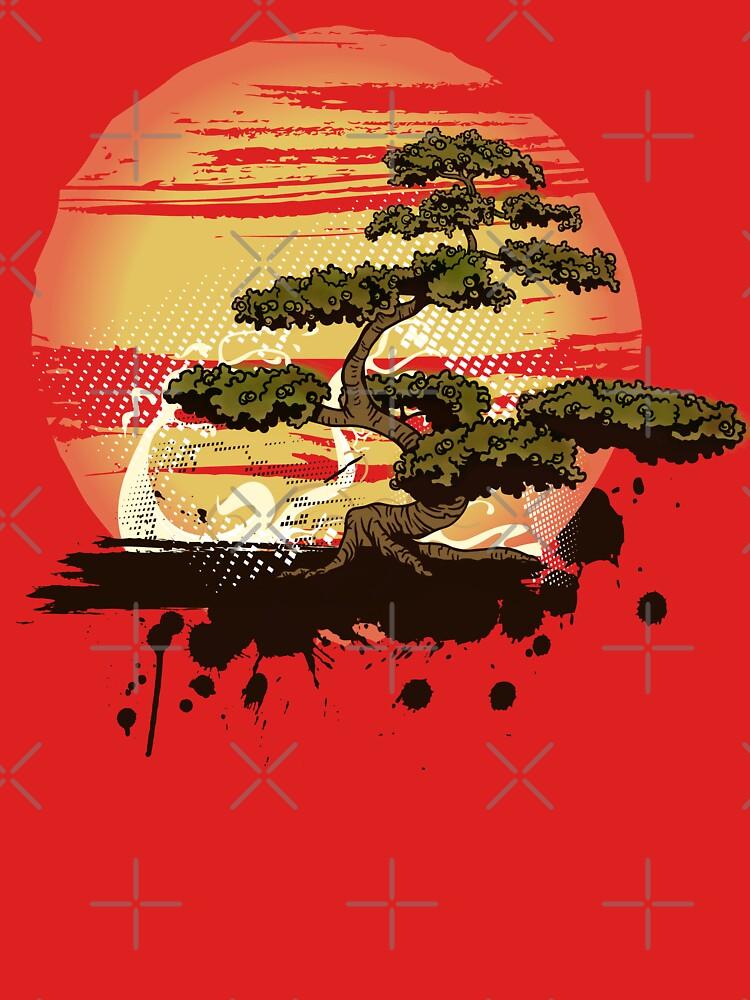 Bonsai Tree Karate Dojo by maniacreations