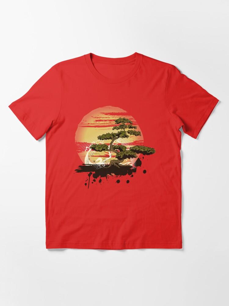 Alternate view of Bonsai Tree Karate Dojo Essential T-Shirt