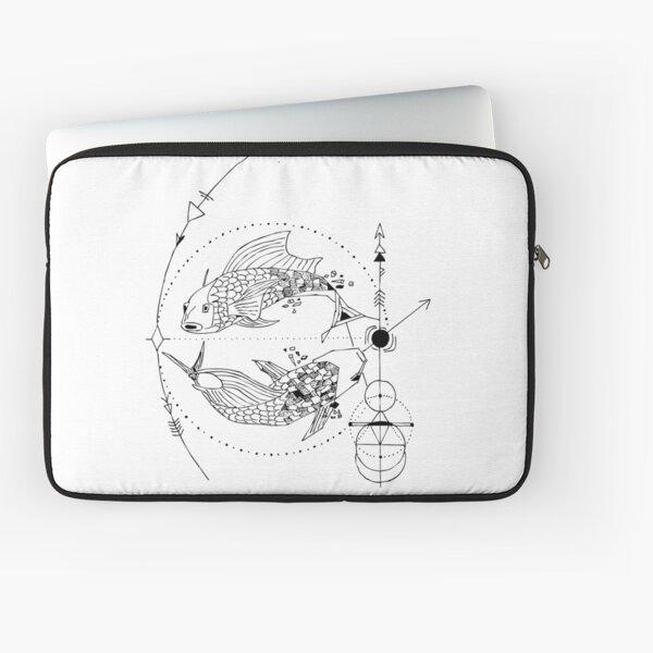 Geometric Pisces Laptop Sleeve