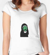 Jesus no. Women's Fitted Scoop T-Shirt