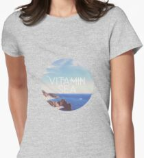 Vitamin Sea Womens Fitted T-Shirt