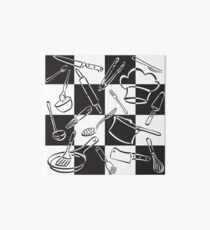 Kitchen Tools Check Art Board